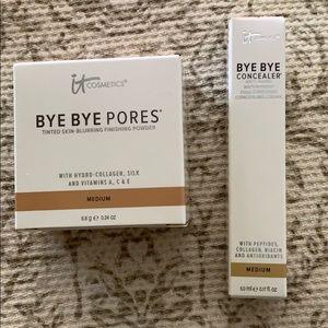 it Cosmetics BYE BYE PORES Medium Finishing Powder